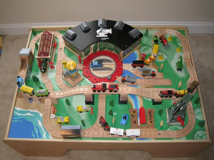 Cool Thomas The Train Table Set Up Pictures - Best Image Engine . & Cool Thomas The Train Table Set Up Pictures - Best Image Engine ...